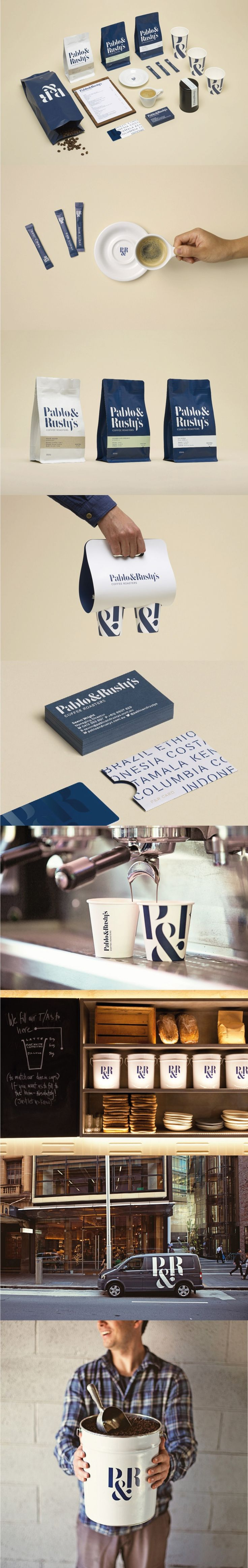 Pablo & Rusty's. A perfect cup of coffee isn't good enough. #branding #identity #design