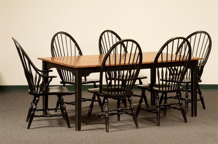 17 best images about colonial and primitive tables on for Primitive dining room furniture