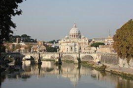 Roma, Vaticano, Tíber, Río