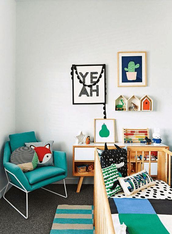 Gender Neutral Bedroom - Interior Design Ideas
