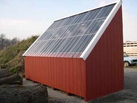 Solar Kiln Por Woodworking