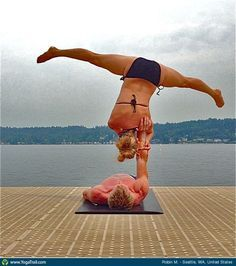 10 best acro yoga poses to do images on pinterest  acro