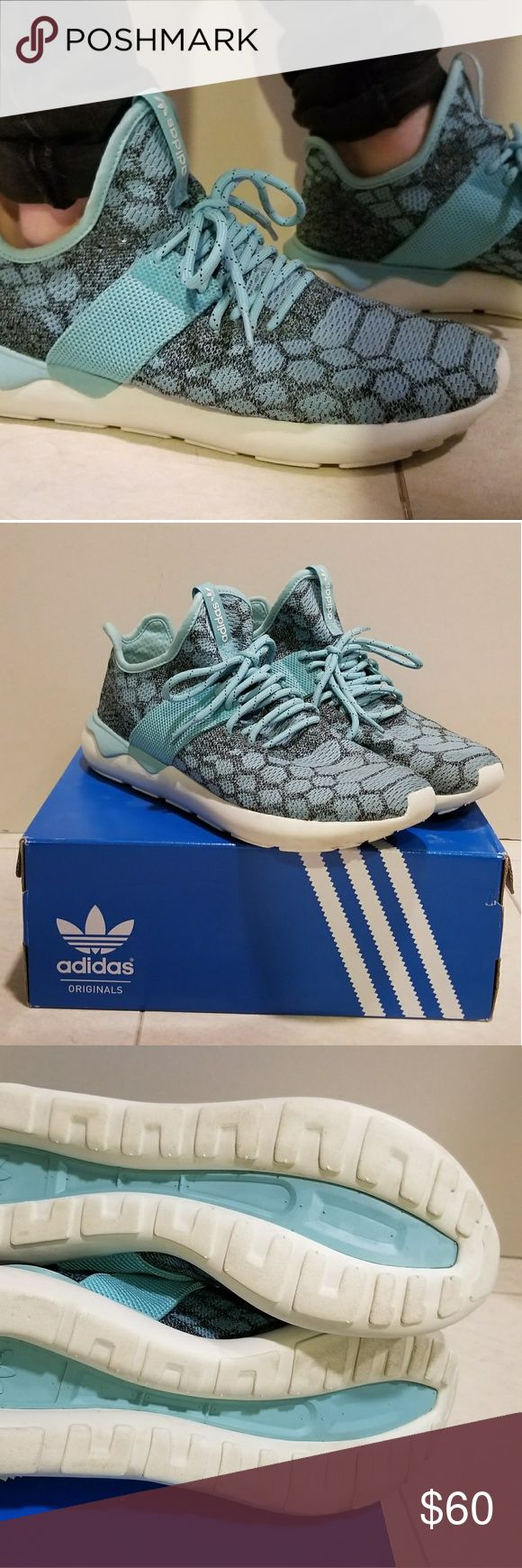 Adidas tubular runner Prime Knit sz 10 Men Mens sz 10. Like new 8.5/10 adidas Shoes Sneakers