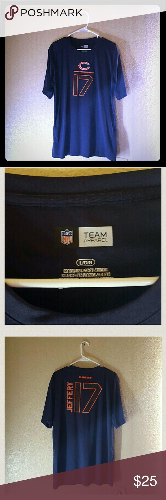 Chicago Bears NFL Team Apparel Tee Great Condition NFL Team Apparel Chicago Bears Tee With No Damages!!! NFL Team Apparel Shirts Tees - Short Sleeve
