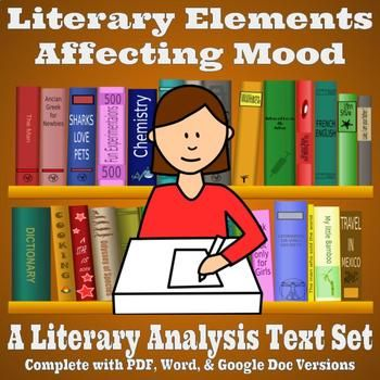 Literary Analysis Text Set - Literary Elements Affecting Mood - Poe & Fitzgerald