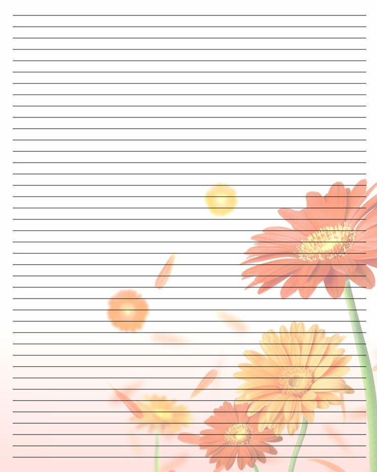 Printable Writing Paper (107) by Aimee-Valentine-Artdeviantart - notepad template for word