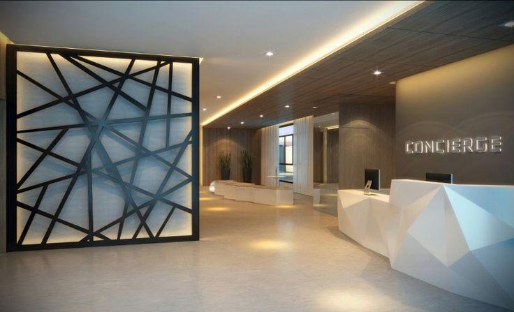 Perspectiva lobby concierge - http://planoeplano.com.br/imovel/brand-pensilvania