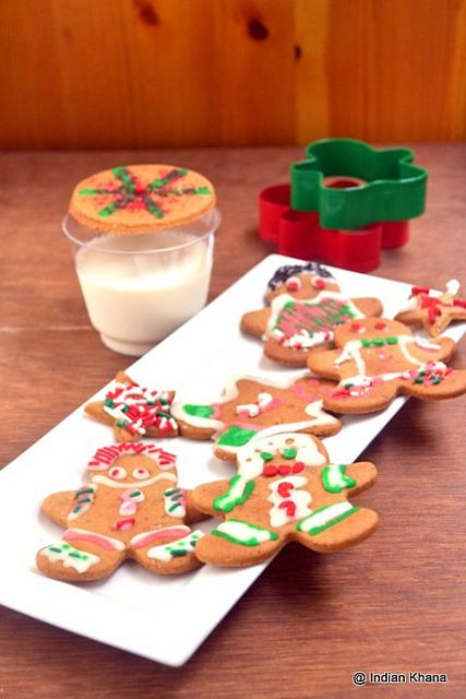 Gingerbread man cookie recipe by Priti_S, via Flickr