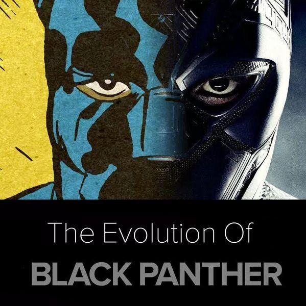 Guia da Evolução do Pantera Negra (Black Panther)... ver mais em www.bdcomics.pt   #bdcomicspt