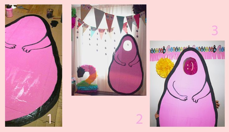 Barbapapa Party *  DIY Photobooth