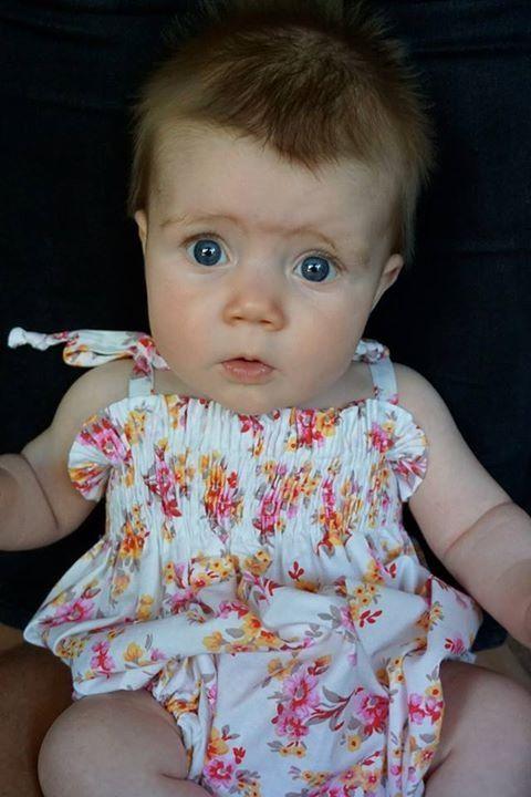 Baby romper http://www.deliacreates.com/smocked-baby-romper-tutorial/
