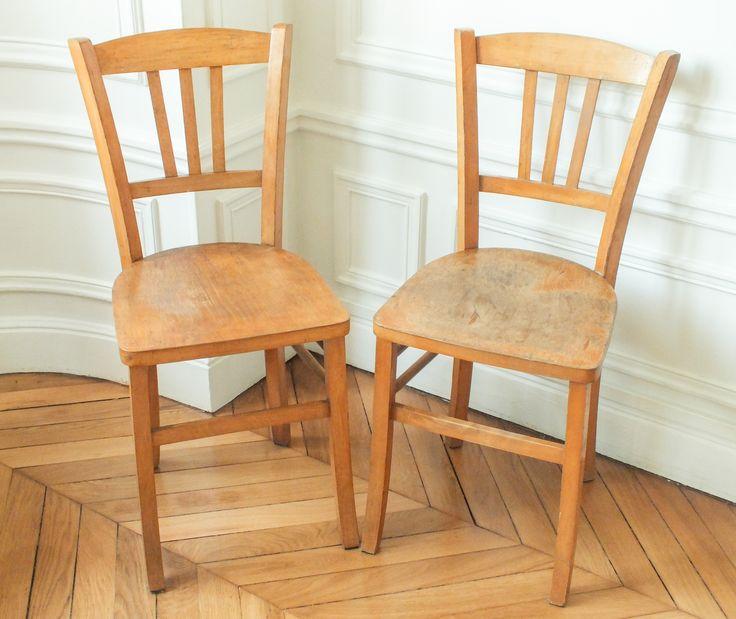 1000 id es sur le th me chaise bistrot sur pinterest for Chaises bistrot anciennes
