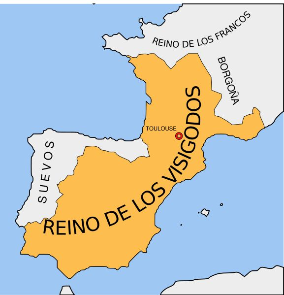 15 mapas que resumen rápidamente la historia de España