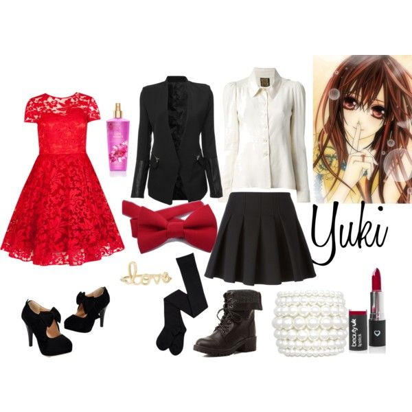 Vampire Knight - Yuki by animedowntherunway on Polyvore