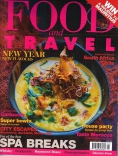Food and Travel Magazine, January 2013 (searchable index of recipes)
