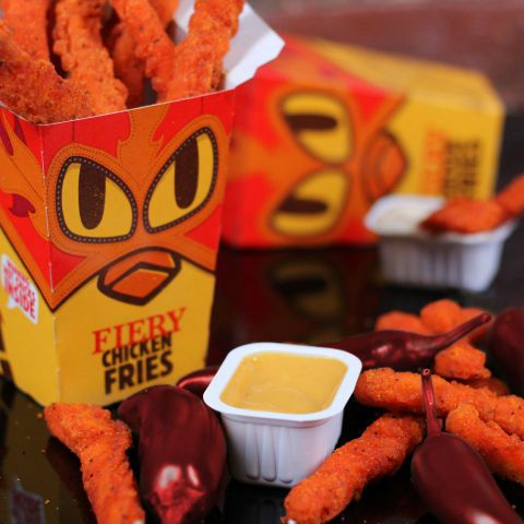 Burger King Introduces New Fiery Chicken Fries - Delish.com