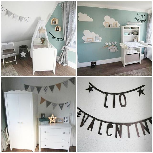 kinderzimmer babyzimmer baby babyboy kidsroom. Black Bedroom Furniture Sets. Home Design Ideas