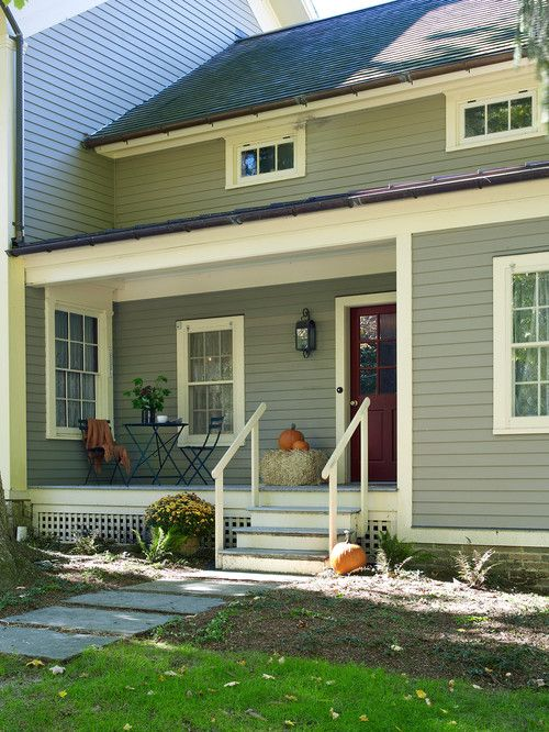 Vintage Farmhouse With All The Charm Of Yesteryear Farmhouse Remodel Farmhouse Addition Exterior Paint Colors For House