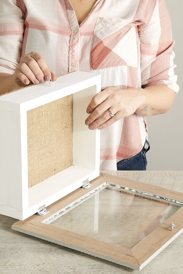 Build A Shadow Box For Your Favorite Keepsakes Shadow Box Memory Diy Shadow Box Shadow Box