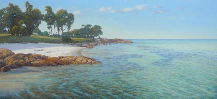 Beach artwork painting - Kerry Nobbs - Dunsborough Bay