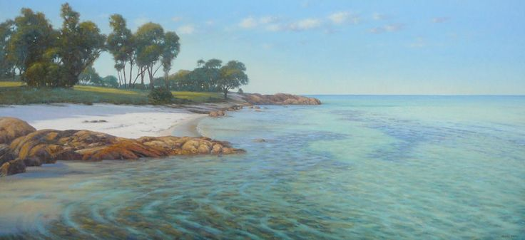 Beach artwork painting - Kerry Nobbs - Dunsborough Bay