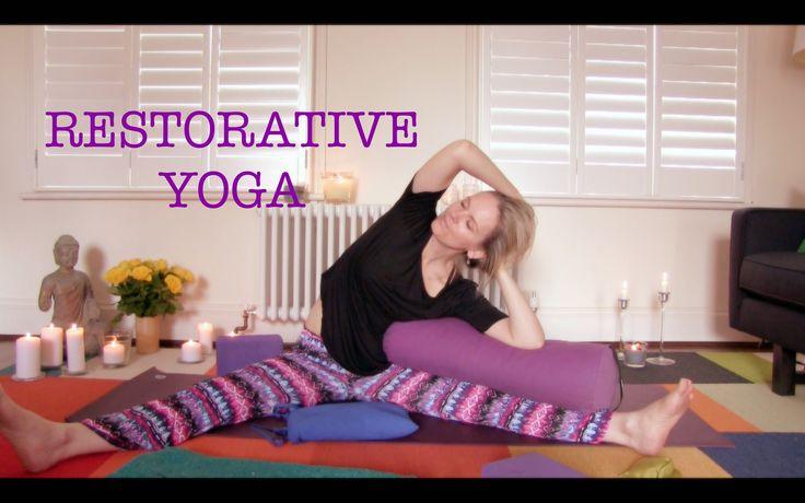 RESTORATIVE YOGA :: 30 min of easy rest, release, detox