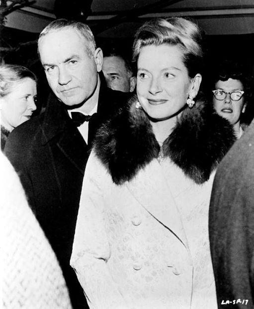 Deborah Kerr and her second husband, Peter Viertel