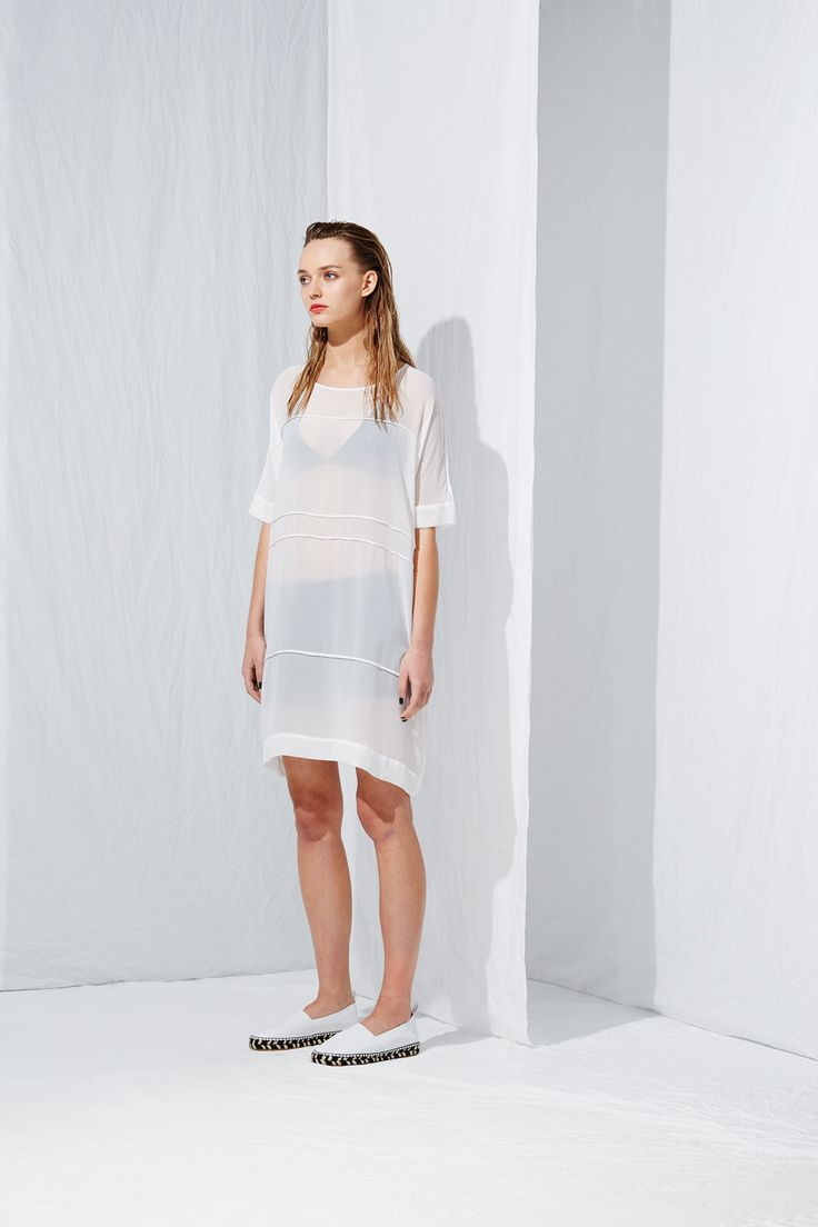 Liner Shift Dress from the latest L.W.B. collection by Australian fashion designer LIFEwithBIRD Summer'15