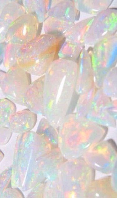 Ɩ MƖƧƧ ƳƠƲ ☪☆ ∘ Opal Rocks Gems Pretty Pastel