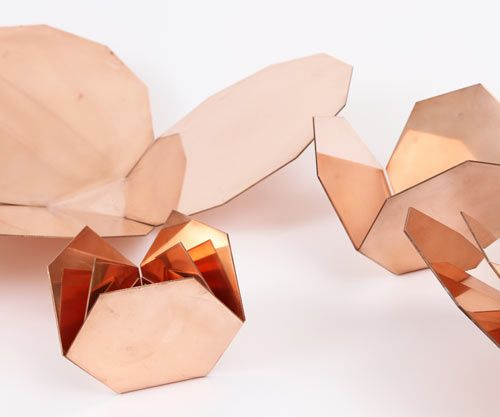 "LOVE IT!  ""Me-Far Geometric Copper Nesting Bowls"" by CoWorks"