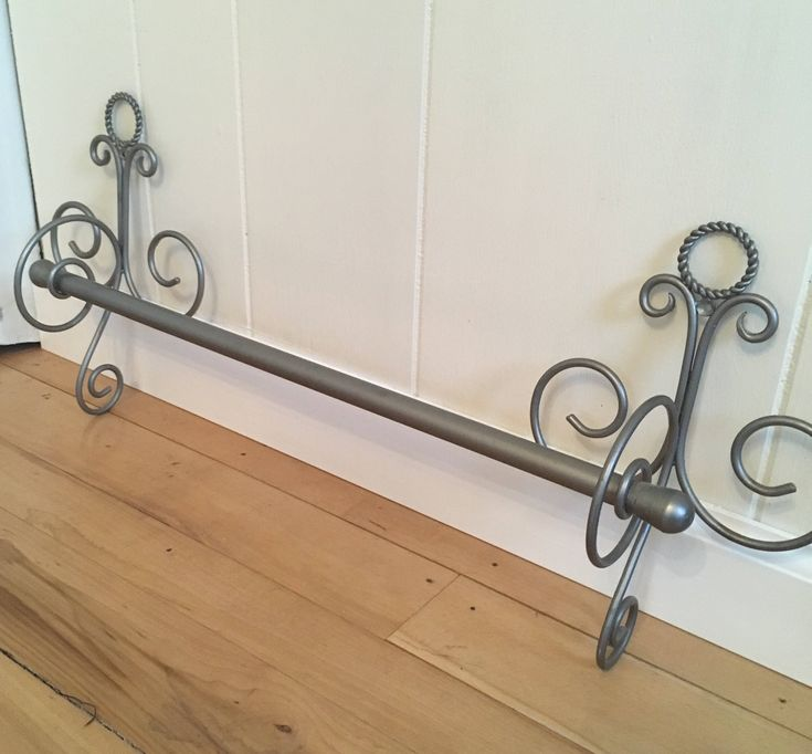 Excited to share the latest addition to my shop: French style nickel finish towel bars #etsy