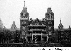 Athens, OH: The Athens Lunatic Asylum, or The Ridges, has been considered one of the more haunted places on Earth. in 1876, two years after The Ridges opened, the number-one-listed cause of insanity among its male patients was masturbation, while menstrual issues were high up on the list of ills for committed females.