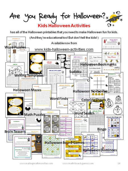 1000+ ideas about Halloween Math Worksheets on Pinterest | Algebra ...