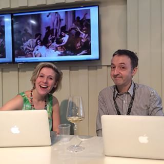 Rebecca Gibb and Andrew Dembina, Le Pan Media Team
