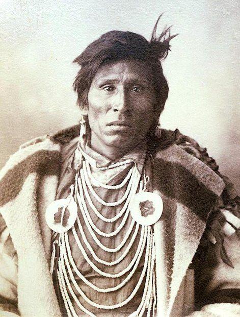 Yellow Boy Assiniboine 1898