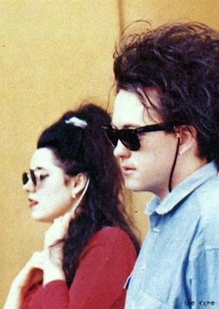 Mary Poole and Robert Smith