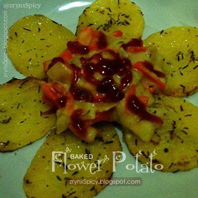 :: BAKED FLOWER POTATO » zrynxspicy.blogspot.com/2015/05/baked-flower-potato.html