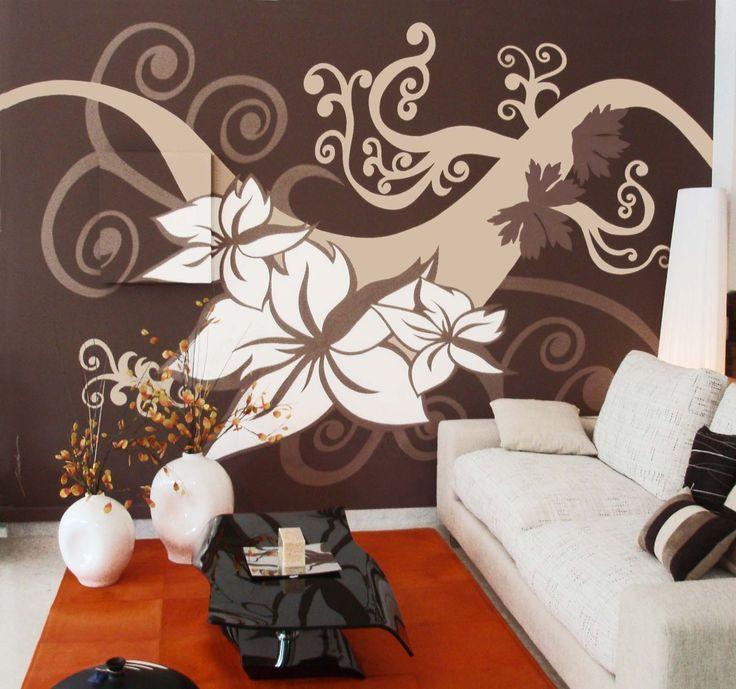 Mural pintado a mano por Nieves Miranda