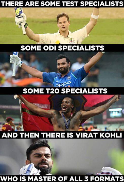 Virat Kohli is consistent across all three formats. - http://ift.tt/1ZZ3e4d
