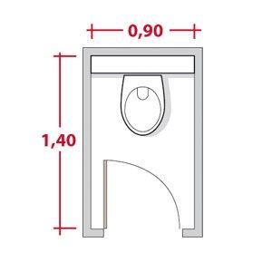 25 best ideas about r gles salle de bains sur pinterest signes de toilette - Dimension porte interieur ...