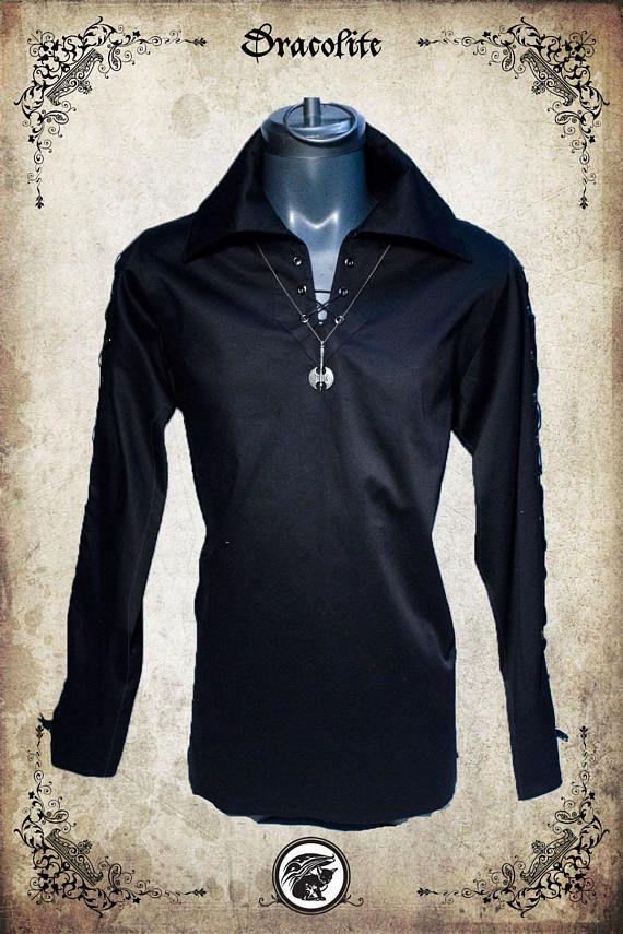 Ragnar viking medieval shirt clothing for men LARP costume and