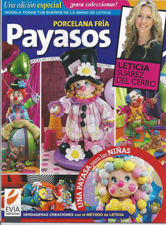 Cold Porcelain Special Edition CLOWNS 2013 PAYASOS by AmGiftShoP, $12.99