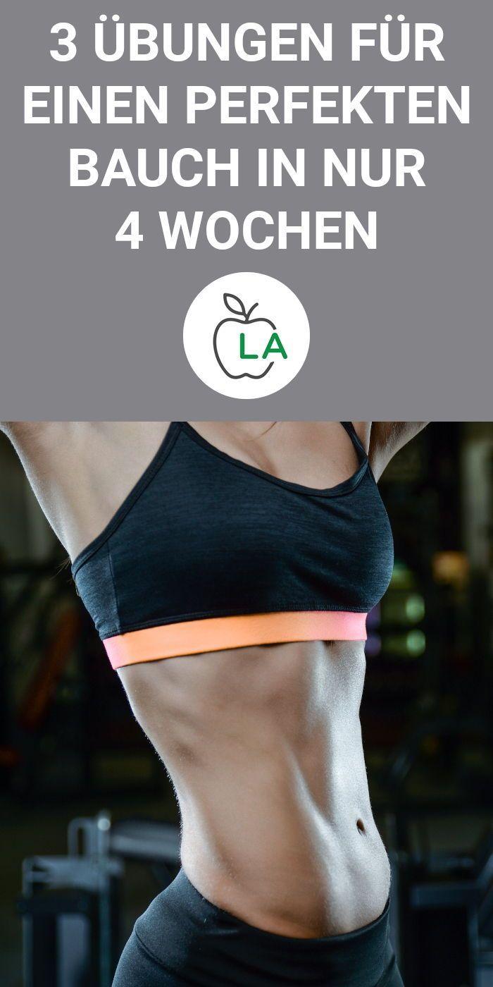 Bauchfett verlieren – 3 Übungen, 8 Minuten pro Tag  #bauchfett #minuten #ubungen #verlieren