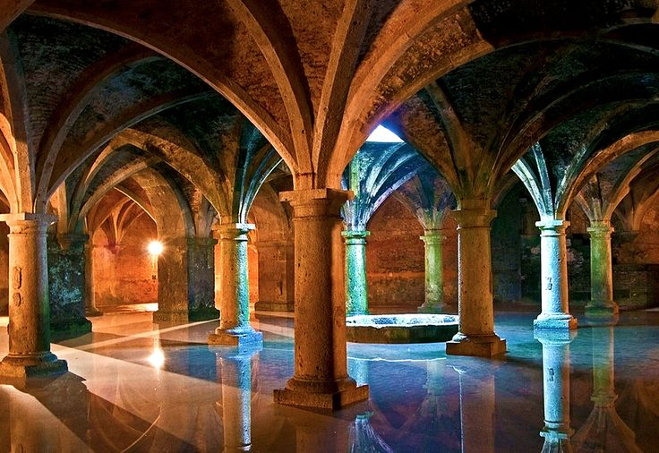 Underground Portuguese Cistern In The Old City Of El