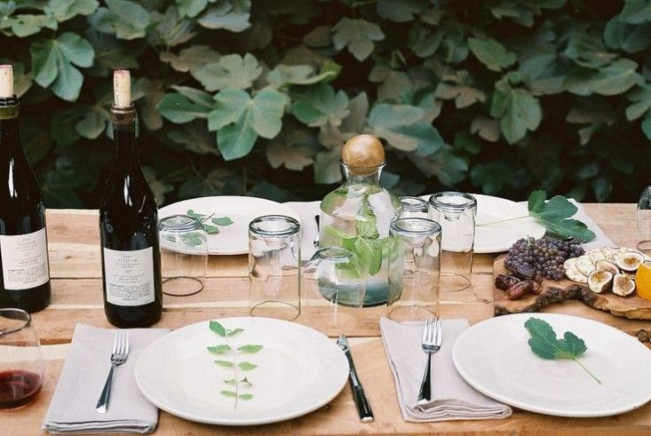 Leaf Table Setting | Remodelista