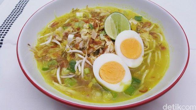 Resep Soto Ayam Kuning Berkuah Bening Segar Di 2020 Ayam Resep Sayuran