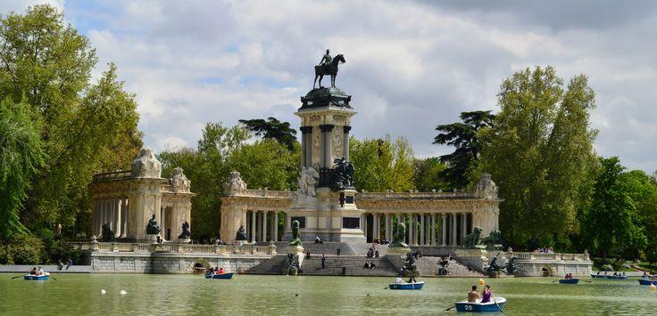 Monument to Alfonso XII, Parque del Buen Retiro