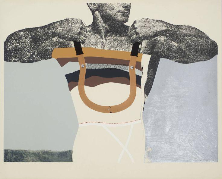 Richard Hamilton 'Adonis in Y fronts', 1963 © The estate of Richard Hamilton