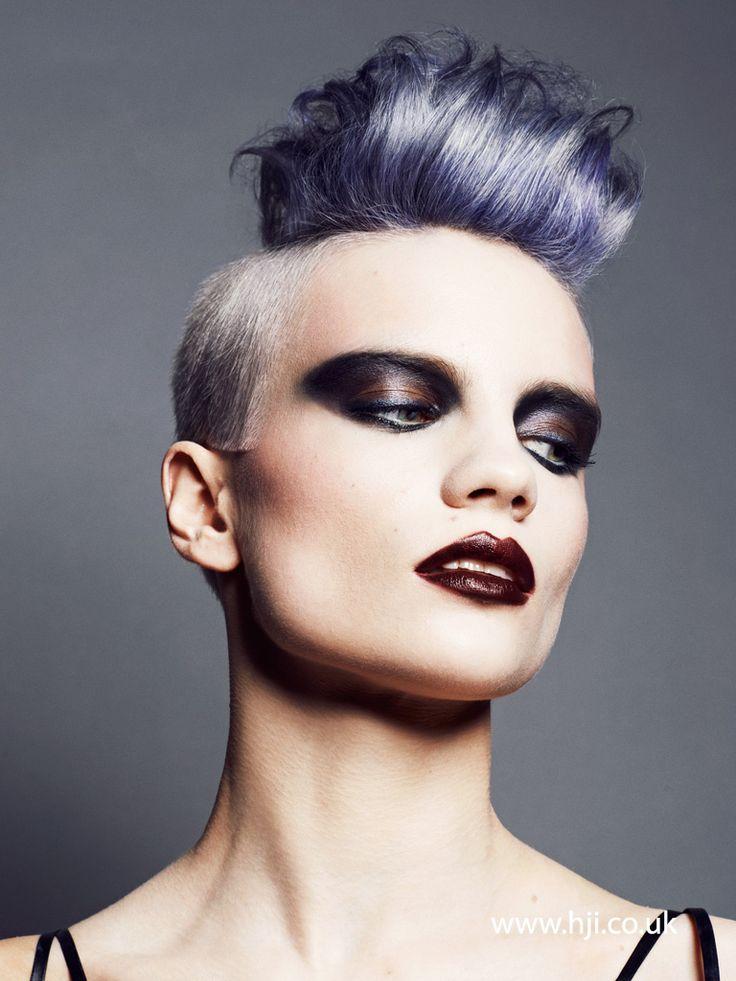 2015 purple rockabilly quiff hairstyle - Hairstyle Gallery