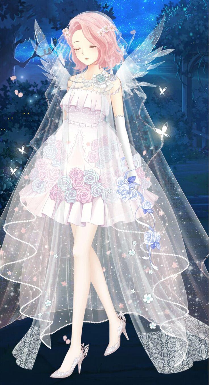 Königliches Hochzeitskleid   – Anime people / drawings etc.